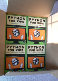 Python for Kids in box