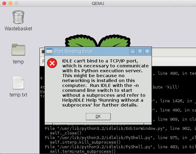 Tkinter mainloop issue on Raspberry Pi